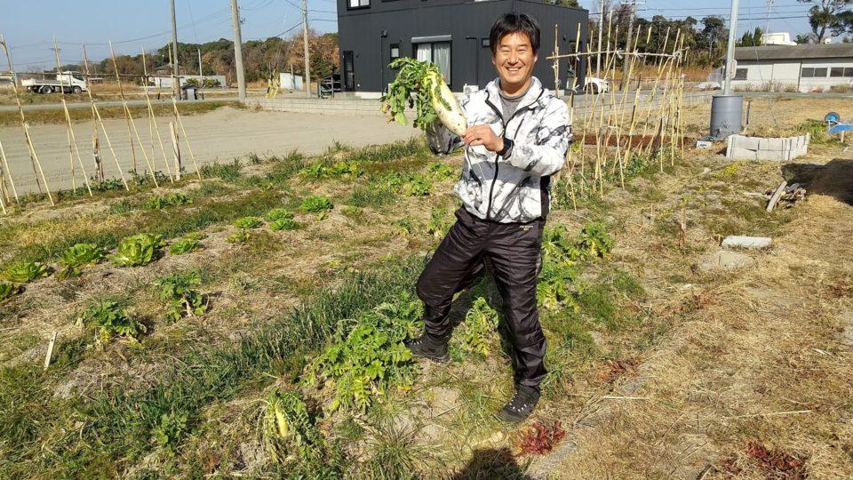 自然農を体験する