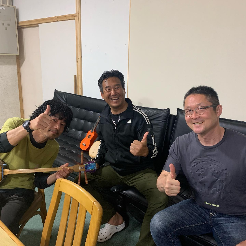 京都府から三味線を弾きに来た